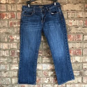 Lucky Brand | Cropped Jeans | Medium Wash 8